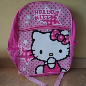 "Hello Kitty School Backpack Pink 16""  Large"